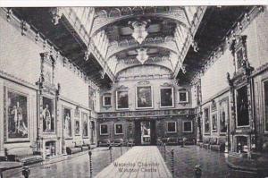 England Windsor Castle Waterloo Chamber