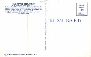 Beau-Rivage Restaurant in Spring Lake, New Jersey
