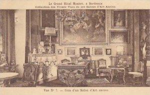 France Bordeaux Le Grand Hotel Montre Coin d'un Salon d'Art ancien ...