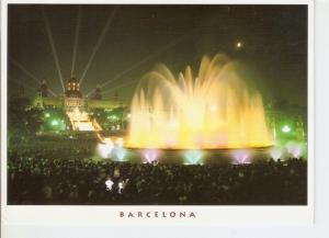 Postal 047046 : Barcelona. Palau Nacional i fonts de Montjuic