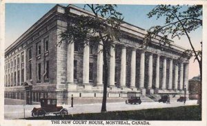 Canada Quebec Montreal New Court House