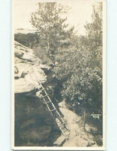 1930's rppc NICE VIEW Postmarked Camp Douglas - Near Tomah Wisconsin WI i8415