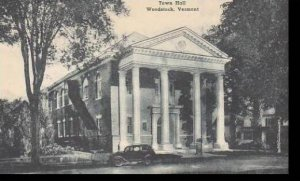 Vermont Woodstock Town Hall Albertype
