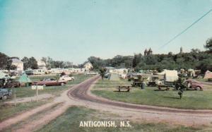 ANTIGONISH , Nova Scotia , 50-60s ; Whidden's Trailer Court & Camping Grounds
