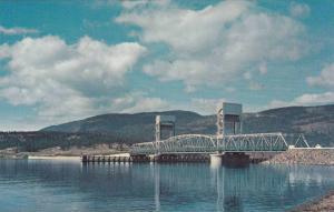 Okanagan Lake Bridge, Kelowna,   B.C.,  Canada,  40-60s