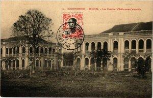 CPA AK INDOCHINA Saigon Les Casernes d'Infanterie VIETNAM (957160)