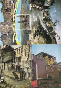 Last Of The Summer Wine Show incl Rare Artist Painting 4x Postcard s