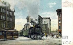 New York Central Terminal Syracuse NY Postal used unknown