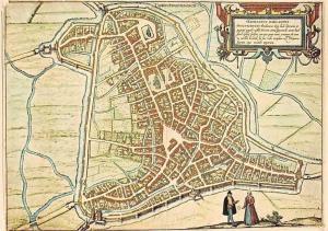 Netherlands Privinciaal Genootschap, Plattegrond van's-Hertogenbosch Map