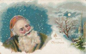 CHRISTMAS ,1908 ; Brown Santa Claus portrait