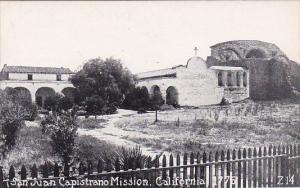 California San Juan Capistrano Mission