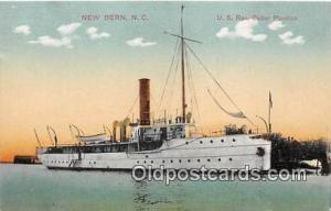 US Rev Cutter Pamlico New Bern, NC, USA Postcards Post Cards Old Vintage Anti...
