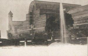 CRYSTAL PALACE , England , 1901-07