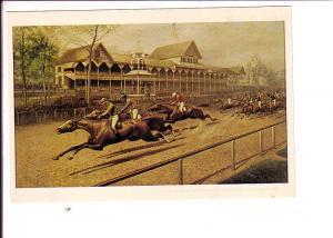 L Maurer, The First Futurity, Race Horse