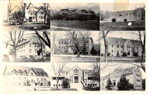 Billings Montana Rocky Mt College Real Photo Antique Postcard K63418