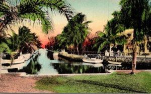 Florida Sunny Scene Safe Moorings