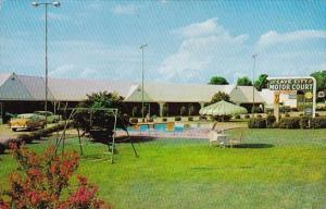 Kentucky Cave City Motor Court With Pool 1960