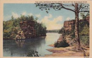 Wisconsin Milwaukee The Jaws Entrance To The Upper Dells Of The Wisconsin River