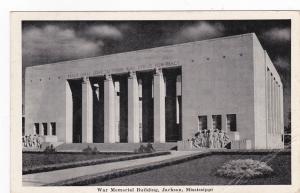 JACKSON , Mississippi, 1942 ; War Memorial Building