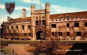 England Cambridge Christ's College 1972