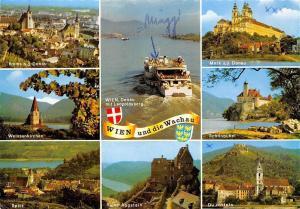 Wien und die Wachau Spitz Ruine Aggstein Schoenbuehel Melk an der Donau