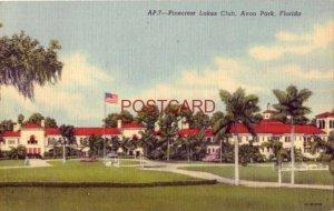 1955 PINECREST LAKES CLUB, AVON PARK, FLORIDA