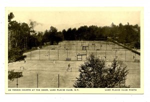 NY - Lake Placid. Lake Placid Club Tennis Courts