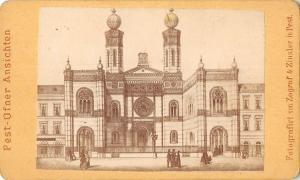 B23703 Judaica Sinagoga Synagogue Pest Pesta Budapest Hungary PHOTO 10x7 cm