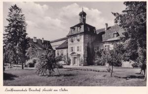 Landfrauenschule Triesdorf Ansicht Von Suden Bayern Germany Postcard
