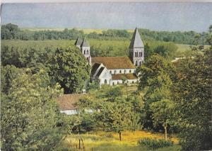 BF20283 l abbaye de morienval ile de france france front/back image