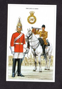 UK British Army Life Guards Military Horse Artist Signed D Anderson Postcard PC