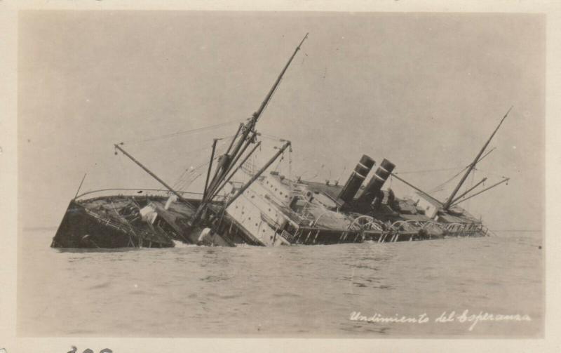 RP: S.S. ESPERANZA , Sinking , 1930-40s