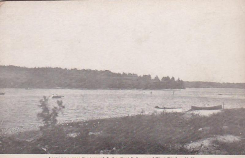 New Hampshire East Jaffrey and West Rindge Looking Across Contoocook Lake