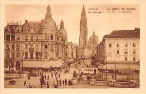 Anvers Belgium, Belgique, Belgie, Belgien Le Canal au Sucre Anvers Le Canal a...
