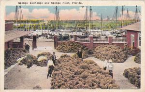 Florida Tarpon Springs Sponge Exchange and Sponge Fleet