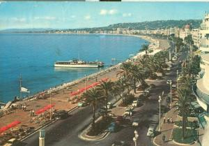 France, Nice, La Promenade des Anglais, 1959 used Postcard