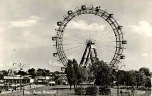 Austria -  Wien (Vienna).  Ferris Wheel   RPPC