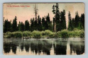 Salem OR-Oregon, On The Willamette, Vintage c1907 Postcard