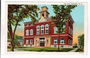 ROCHESTER, New Hampshire; City Hall, 30-40s