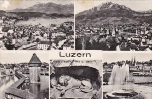 Switzerland Luzern Multi View Photo