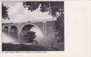 Iowa Des Moines Sixth Avenue Melan Arch Bridge