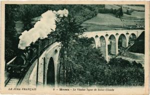 CPA MOREZ Le Viaduc ligne de St-CLAUDE. (247711)