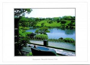 Japan Kumamoto Beautiful Suizenji Park