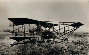 Aviation Javier 1910 L'appareil Fernandez Airplane RPPC 07.30