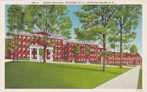 Salem College Founded In 1771 Winston Salem North Carolina