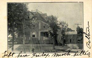 PA - Bloomsburg. Joseph Ratti Hospital circa 1900