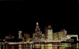 Skyline   Detroit MI 1970