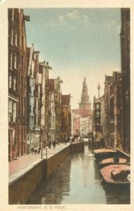 Netherlands, Amsterdam, O. Z. Kolk, early 1900s unused Po...