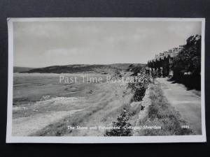 Lancashire SILVERDALE The Shore & Fishermans Cottages c1959 RP PC by Atkinson