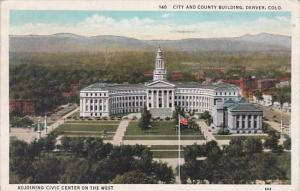 Colorado Denver City and County Building 1937